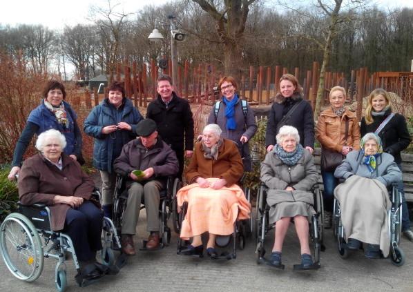 MVO teamdag voor ouderen van Charim
